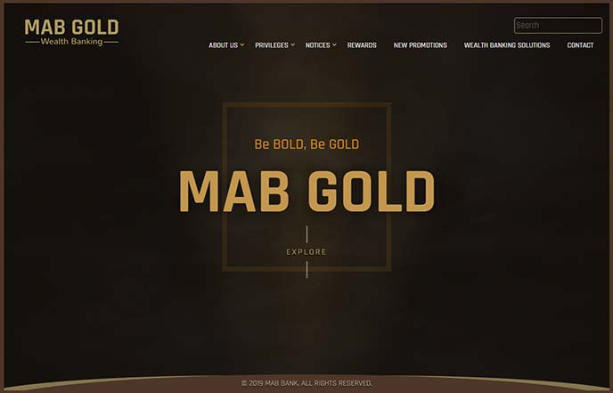 MAB Gold Wealth Banking